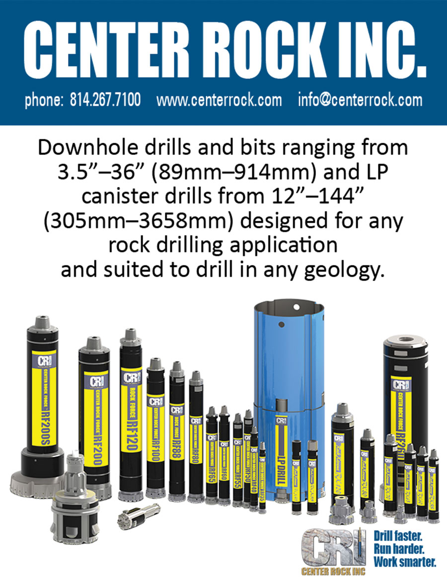DOWNHOLE DRILLS