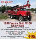 1998 VERSA DRILL V100 SHORT 6X6