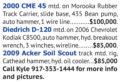 AUGER RIGS FOR SALE - CME 45, DIEDRICH D-120, ACKER SOIL SCOUT