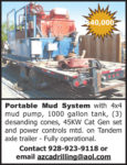 PORTABLE MUD SYSTEM