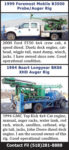 (2) AUGER RIGS FOR SALE - FOREMOST MOBILE & BOART LONGYEAR