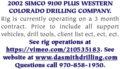 2002 SIMCO 9100 PLUS WESTERN COLORADO DRILLING COMPANY
