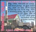 1996 INGERSOLL RAND T2W DRILL RIG