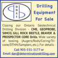 DRILLING EQUIPMENT FOR SALE