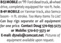 B-53 MOBILE, B-40 MOBILE, AND ALL DRILLING EQUIPMENT
