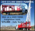 2019 S15,000 SEMCO PUMP RIG