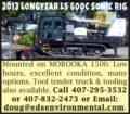 2013 LONGYEAR LS 600C SONIC RIG