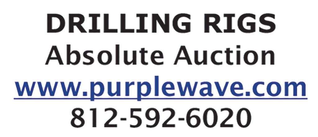 DRILLING RIGS - ABSOLUTE AUCTION