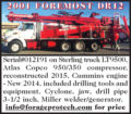 2001 FOREMOST DR12 DRILL RIG