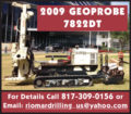 2009 GEOPROBE 7822DT