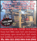 AUGER, MUD ROTARY, AIR ROTARY DRILL - 2008 - MOLF 65D-EF - GEOTECHNICAL & ENVIRONMENTAL DRILL RIG