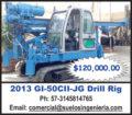 2013 GI-50CII-JG DRILL RIG