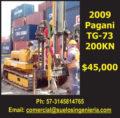 2009 PAGANI TG-73 200KN