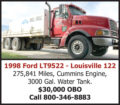 1998 FORD LT9522 LOUISVILLE 122