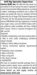 DRILL RIG OPERATOR/SUPERVISOR
