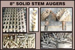 "8"" SOLID STEM AUGERS"