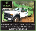 6T SMEAL MTD. ON 2010 FORD F-550