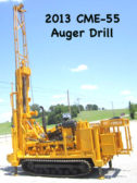 2013 CME-55 AUGER DRILL