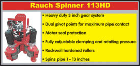 RAUCH SPINNER 113HD