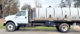 2000 FORD F750 WATER TRUCK