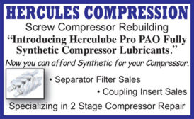 HERCULUBE PRO PAO FULLY SYNTHETIC COMPRESSOR LUBRICANTS