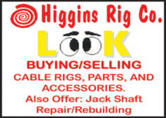 CABLE RIGS, PARTS AND ACCESSORIES JACK SHAFT REPAIR/REBUILDING