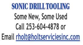 SONIC DRILL TOOLING