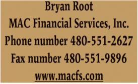 FINANCIAL SERVICES - ARIZONA