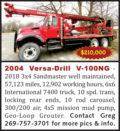 2004 VERSA-DRILL V-100NG