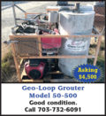 GEO-LOOP GROUTER MODEL 50-500