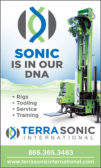 SONIC RIGS, TOOLING, SERVICE, TRAINING