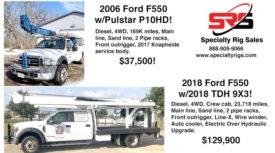 FORD F550 W/2018 TDH 9X3 & FORD F550 W/PULSTAR P10HD!