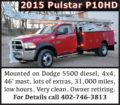 2015 PULSTAR P10HD