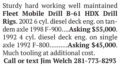 (2) FLEET MOBILE DRILL B-61 HDX DRILL RIGS