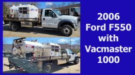 2006 FORD F550 with VACMASTER 1000
