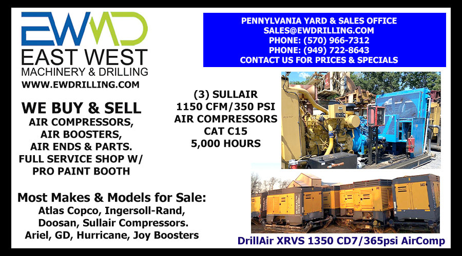 WE BUY AND SELL AIR COMPRESSORS, AIR BOOSTERS, AIR ENDS & PARTS