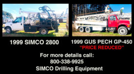 RIGS FOR SALE - SIMCO 2800 & GUS PECH GP-450