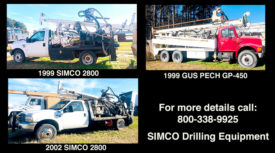 RIGS FOR SALE - (2) SIMCO 2800 & GUS PECH GP-450