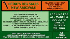SPIKE'S RIG SALES NEW ARRIVALS - OCTOBER 2021