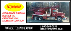 2000 BUCYRUS 60L CABLE TOOL RIG