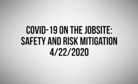 COVID-19 safety and risk mitigation