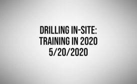 Training, Professional Development for Drillers amid Covid-19