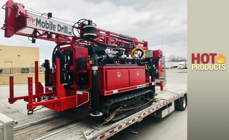 Mobile Drill International's B-51 drilling rig