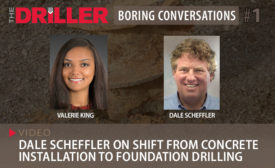 Dale Scheffler on Shift from Concrete Installation to Foundation Drilling
