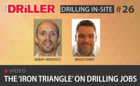 The 'Iron Triangle' on Drilling Jobs