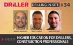 Higher Education for Drillers, Construction Professionals