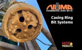 Numa casing ring bit systems